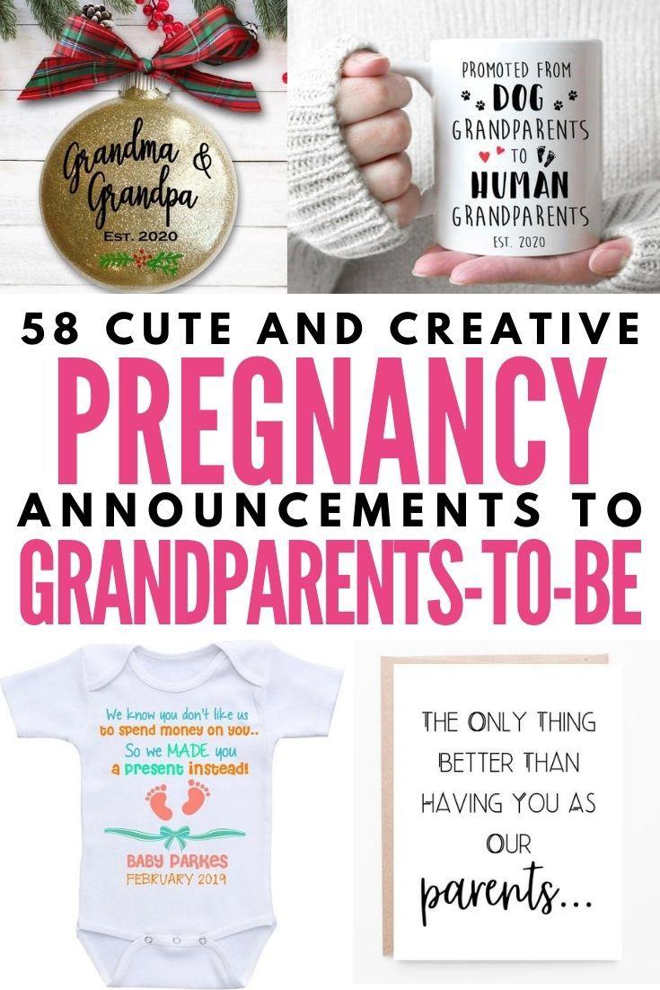 Grandma pregnancy announcement Grandparent pregnancy announcement card You/'re going to be a grandma parent pregnancy announcement